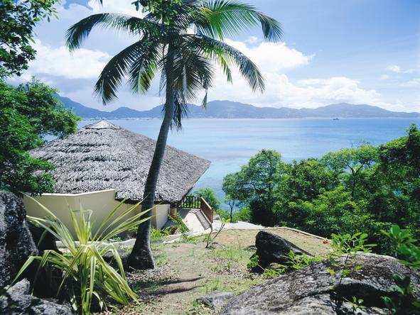 Cerf Island Resort - View
