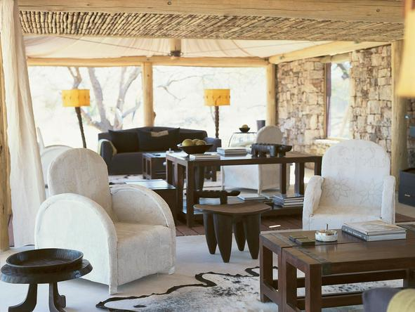 Onguma Luxury Tented Camp - Lounge