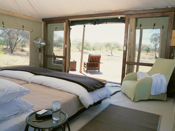 Onguma Luxury Tented Camp - Room