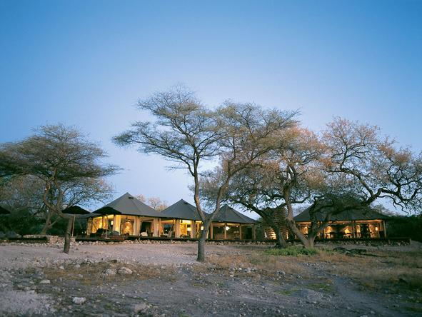 Onguma Luxury Tented Camp - Camp