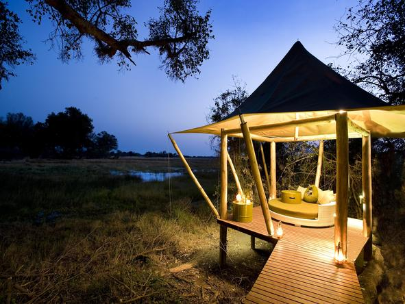 Xaranna Tented Camp - Deck