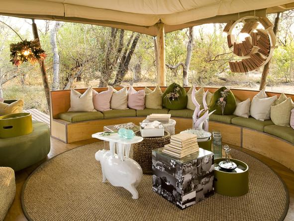 Xaranna Tented Camp - Lounge