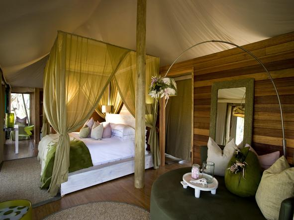 Xaranna Tented Camp - Bedroom