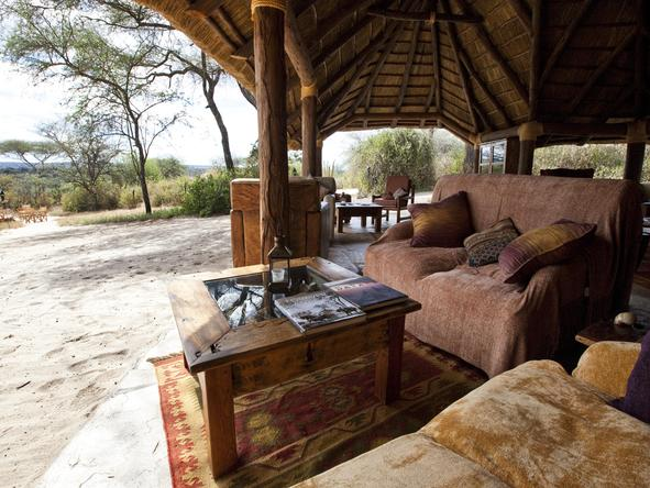 Elephant Bedroom Camp - Lounge