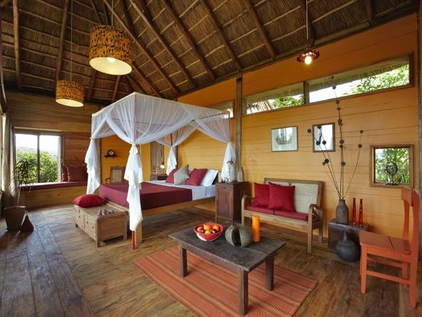 Kyambura Gorge Lodge - Bedroom