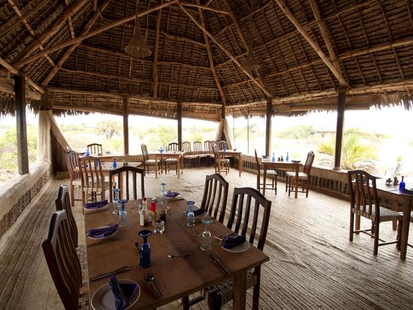 Kizingo Lodge - Dining