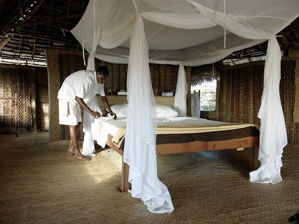 Kizingo Lodge - Bedroom