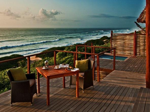 Massinga Beach Lodge - Deck