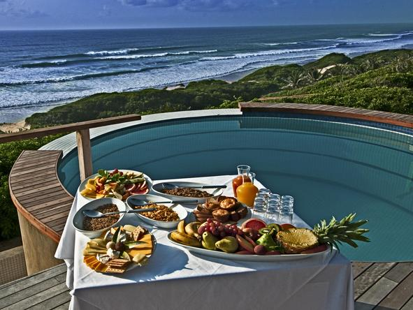Massinga Beach Lodge - Private Deck