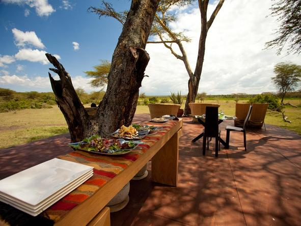 Solio Lodge - Dining