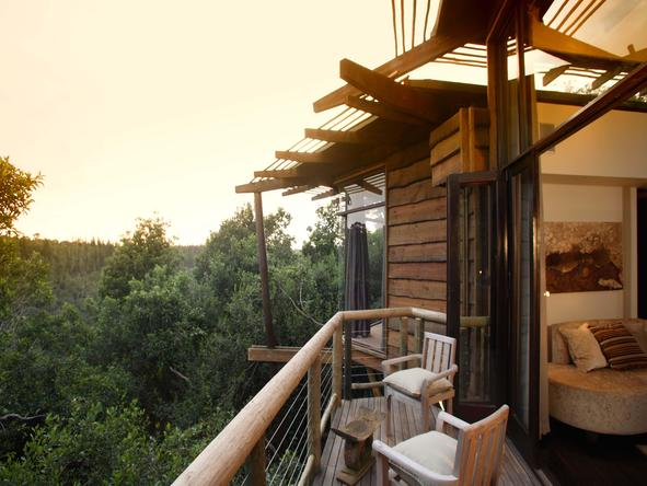 Tsala Treetop Lodge - Private Deck