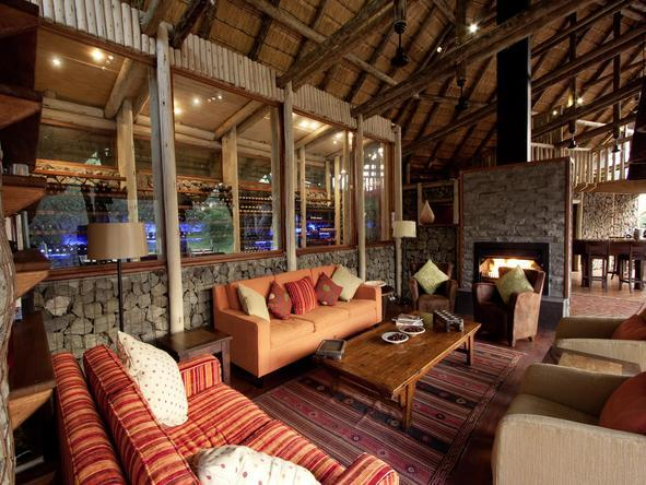 Rhino Post Safari Lodge - Lounge
