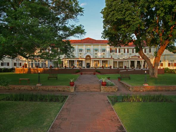 Victoria Falls Hotel - The House