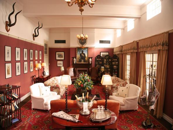 Victoria Falls Hotel - Lounge