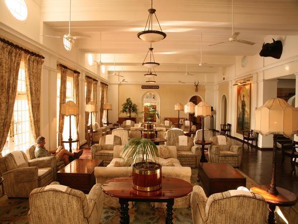 Victoria Falls Hotel - Lounge Area