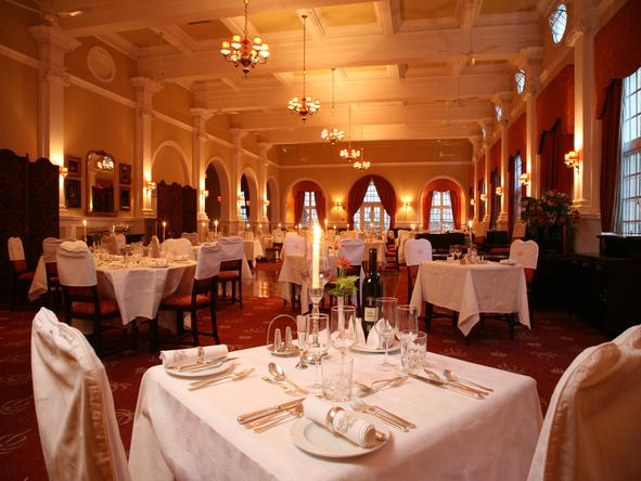 Victoria Falls Hotel - Dining