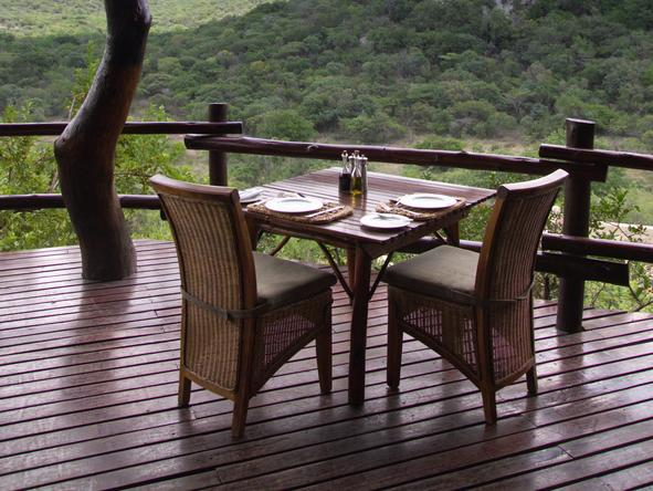 Phinda Rock Lodge - Deck