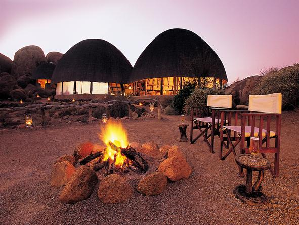 Mowani Mountain Camp - Boma
