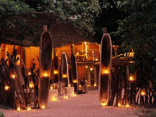 Lake Manyara Tree Lodge - Evening