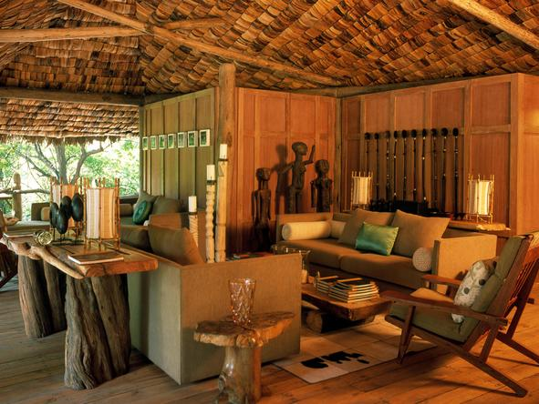 Lake Manyara Tree Lodge - Lounge2