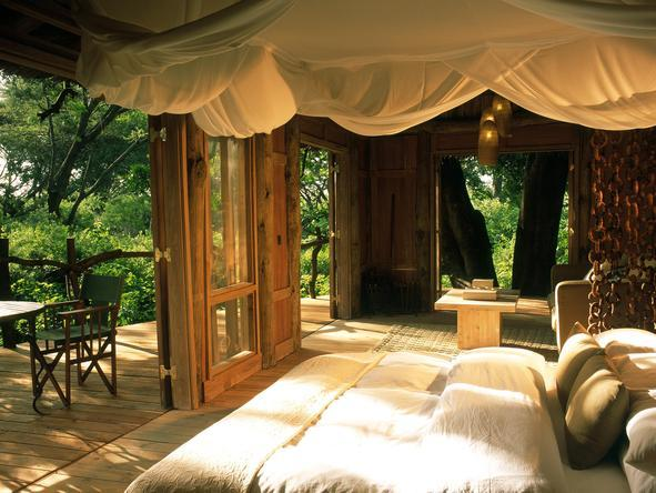 Lake Manyara Tree Lodge - Bedroom