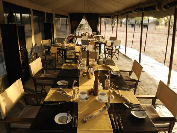 Olakira Camp - Dining
