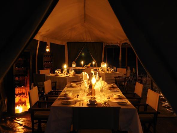 Olakira Camp - Dinner