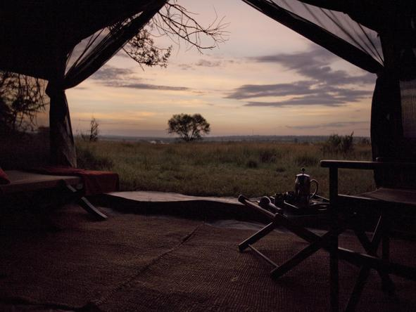 Olakira Camp - Deck