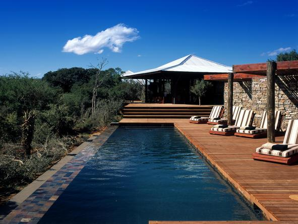 Kwandwe Ecca Lodge - Pool