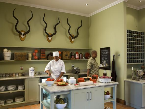 Kwandwe Melton Manor - Kitchen