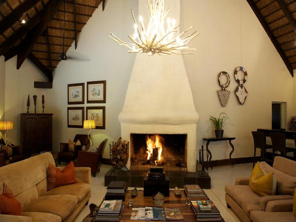 Lion Sands River Lodge - Lounge