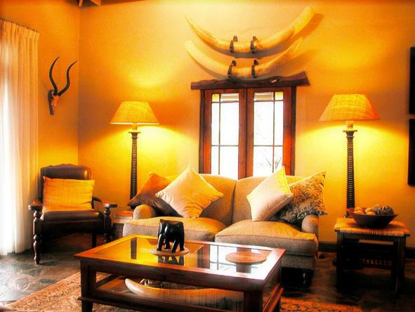 White Elephant Game Lodge - Lounge