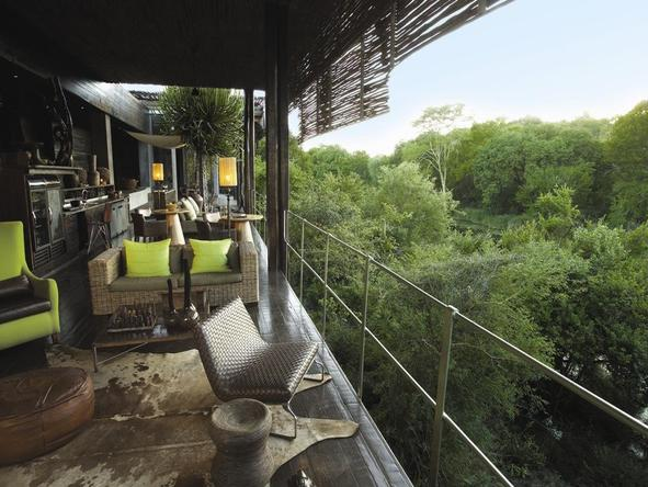 Singita Sweni Lodge - Lounge