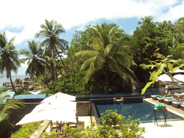 Banyan Tree Seychelles - Pool