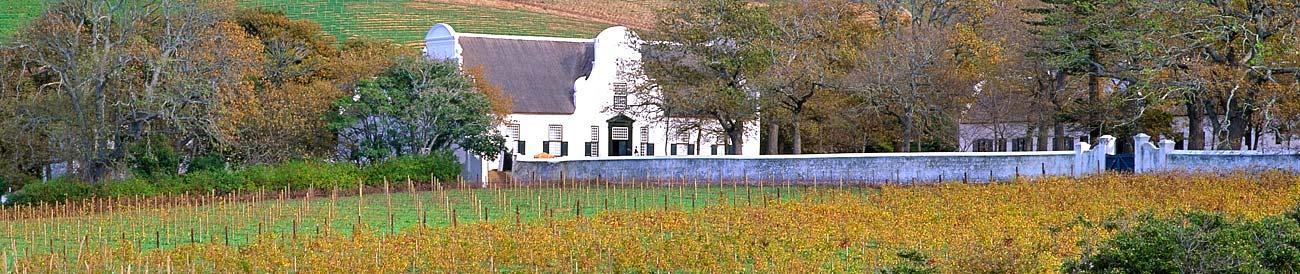 Constantia Wine Valley - comprising some of the oldest wine estates in the country, the pretty Constantia region is home to award-winning estates, restaurants and wines.