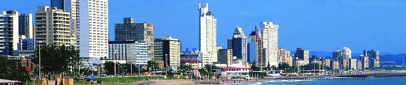 Durban - considered by many as the sunniest city in South Africa, Durban is home to a strong Indian culture, exceptional surfing and great beaches.