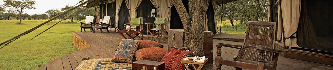 Luxury Safaris - soak up the atmosphere of the African landscape with one of our luxury safaris: silver spoon service, amazing accommodation and exceptional destinations await.