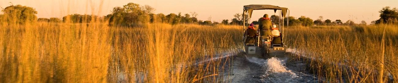 Desert & Delta - explore the delta of Botswana and the dunes of Namibia with Desert & Delta Safaris and Go2Africa.