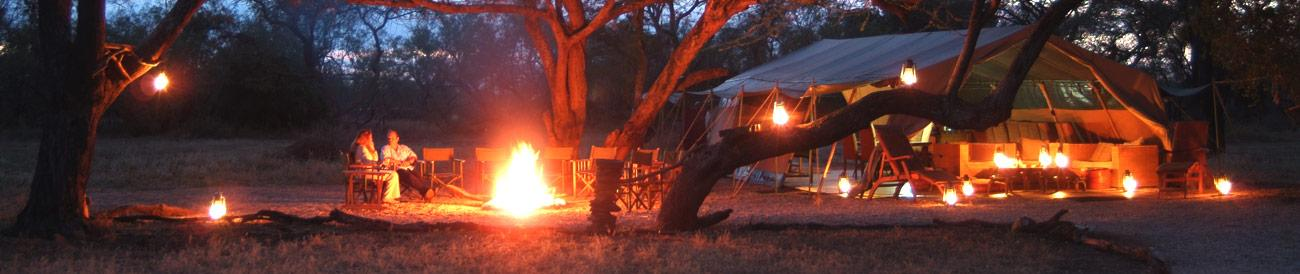 Porini Camps - experience local hospitality and original safari style with the Porini Camps and Go2Africa.