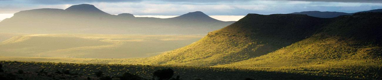 Eastern Cape - a landscape of wide open spaces, malaria-free game-reserves and attractive coastal towns: perfect for a family holiday.