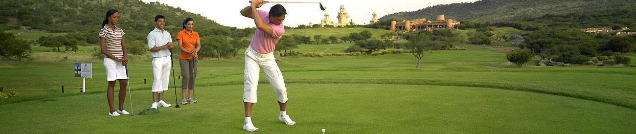 Cape Town, Sun City and Safari Golf Holiday