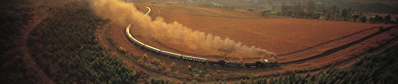Epic Rail Journey across Africa
