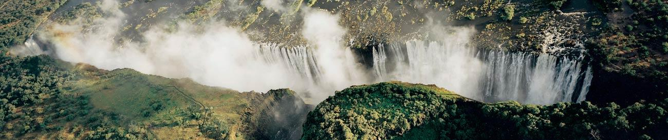 Victoria Falls - the mighty &#39;Smoke that Thunders&#39; is an iconic African destination offering a multitude of adventure and safari experiences.