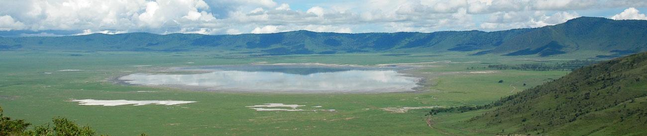 Ngorongoro Crater - home to the Big 5, the concentration of wildlife in such a dramatic setting makes for spectacular safaris.