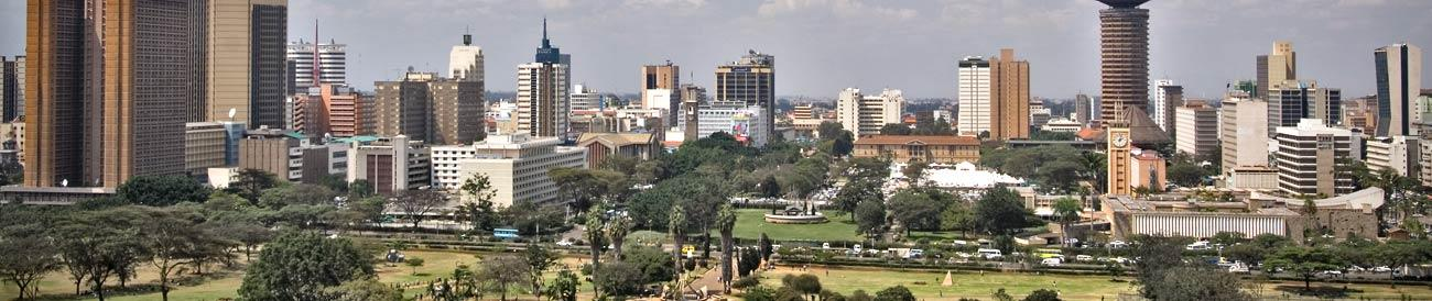 Nairobi - with its many daily inbound and outbound flights, Kenya's bustling capital city is East Africa's biggest flight hub.