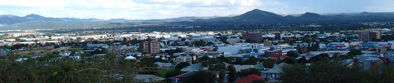 Windhoek - Namibia&#39;s capital city lies right in the middle of the country, making it an ideal stopover during your Namibia safari.