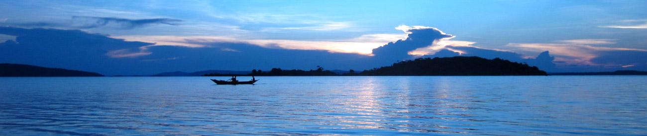 Lake Victoria - stretching across three East African countries, Lake Victoria is the world&#39;s second largest freshwater lake.