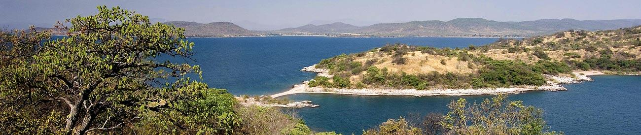 Lake Tanganyika - the Tanzanian shores of Africa's deepest lake are home to excellent rainforest reserves and superb chimp trekking safaris.