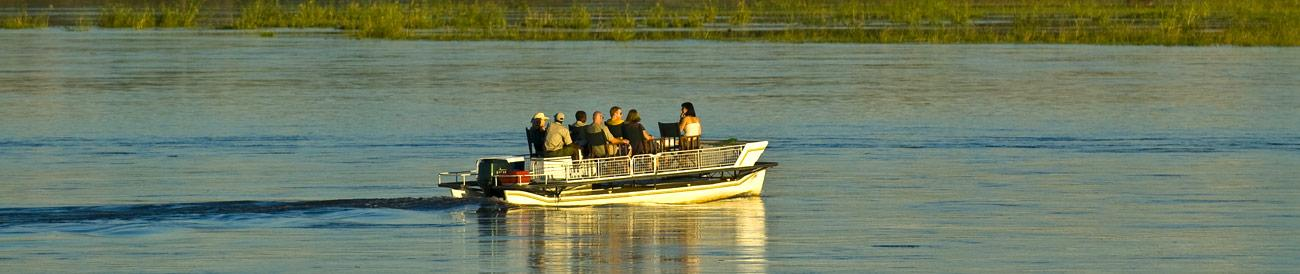 Lower Zambezi National Park - ideally combined with a Victoria Falls and Chobe safari, the Lower Zambezi offers some of the best game viewing in Southern Africa.