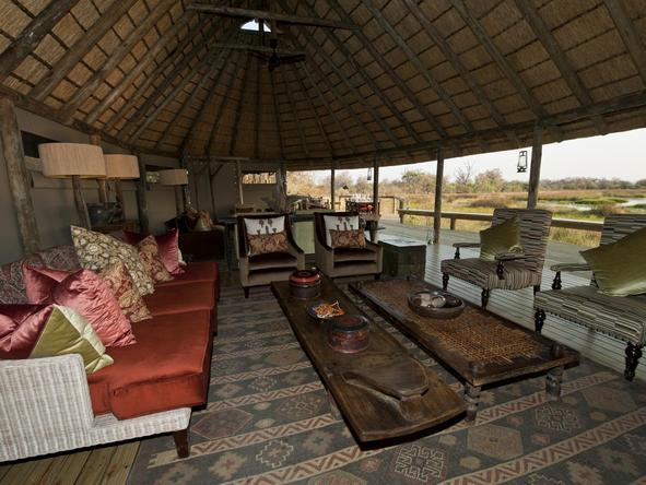Banoka Bush Camp - Lounge 3